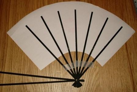 hand fan template. hand fan template
